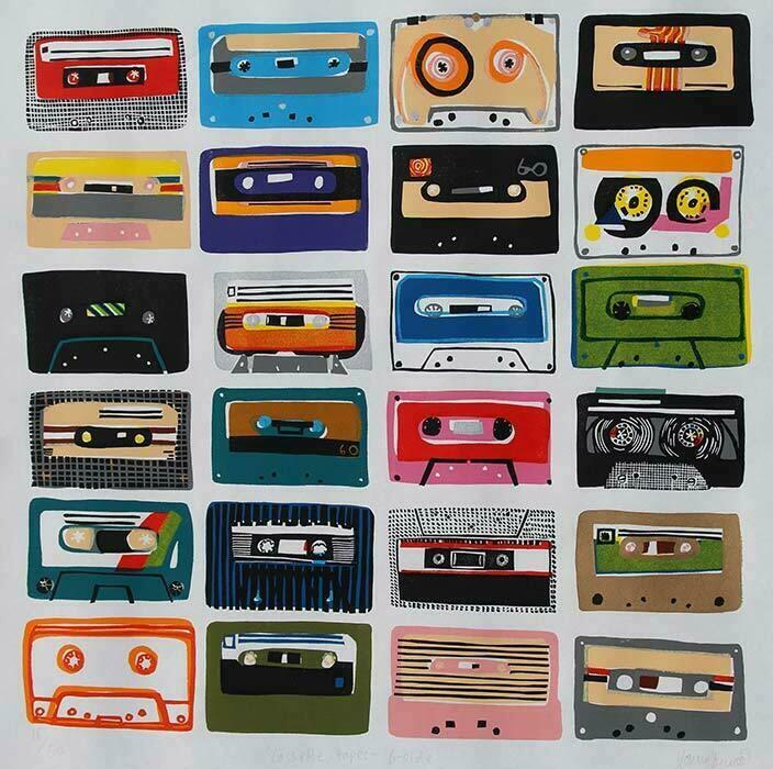 Cassette Tapes B-Side