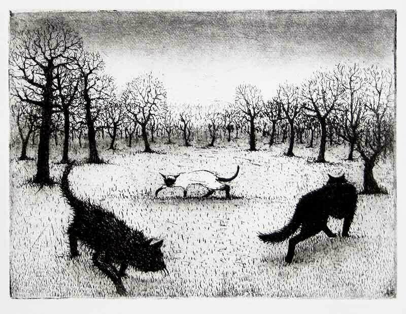 Prowling Cats