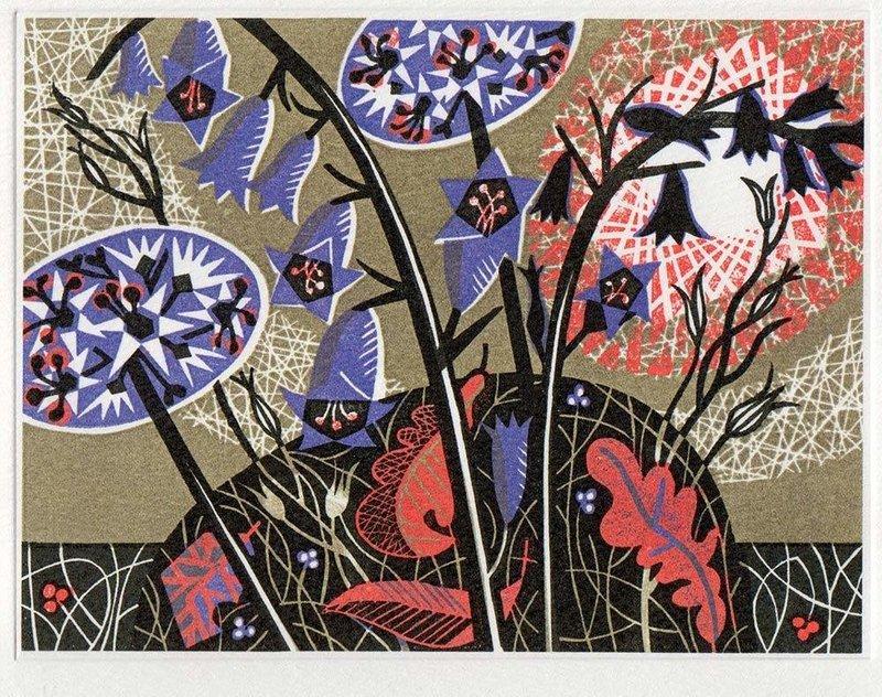 Glade - Printmakers Art Card