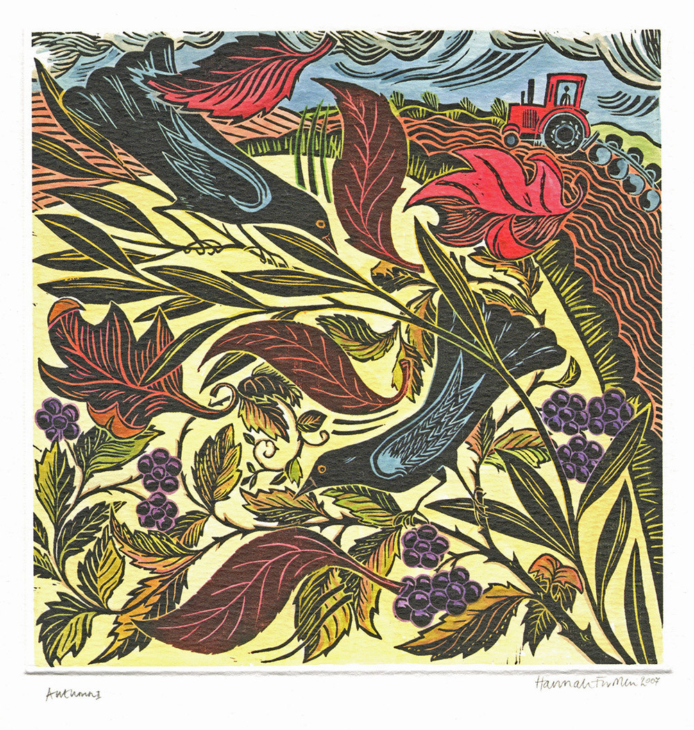 Autumn- Printmakers Card