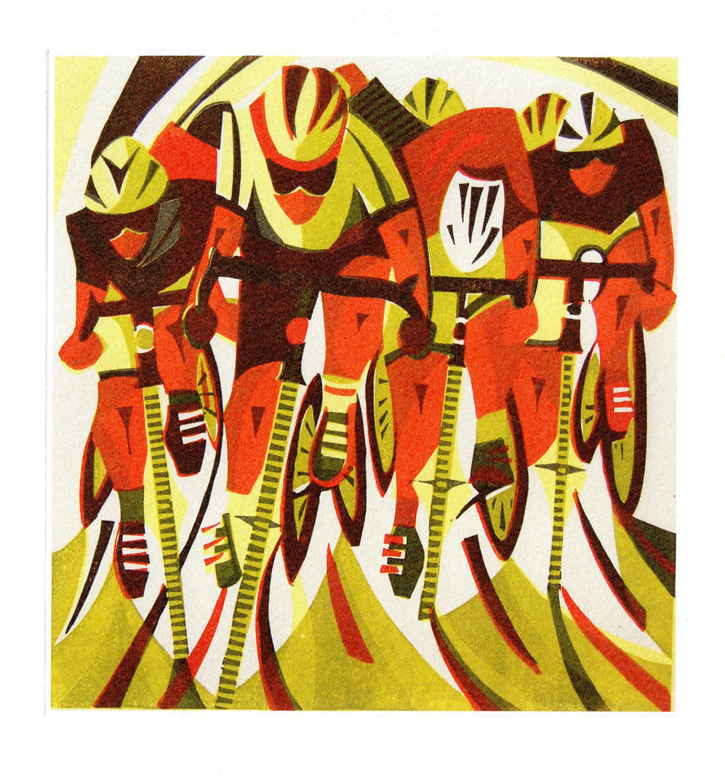 Road Race - Printmakers Card