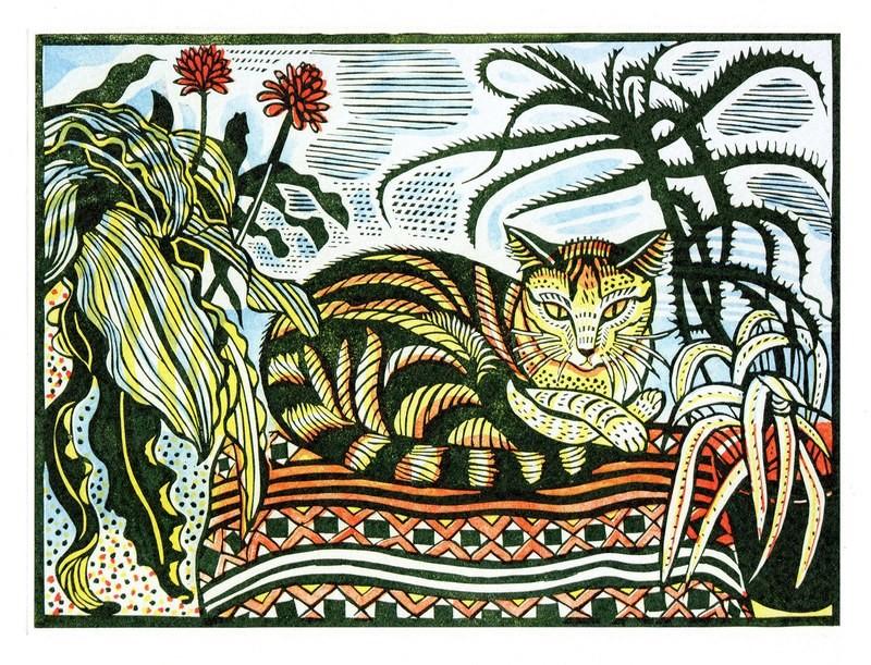 Jessie - Printmakers Card