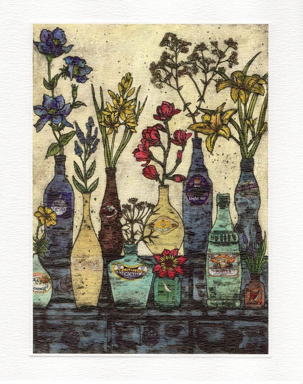 The Dresser- Printmakers Card