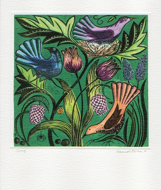 Spring - Printmakers Art Card