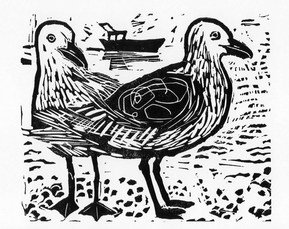 Gulls- Gallery Artists Cards