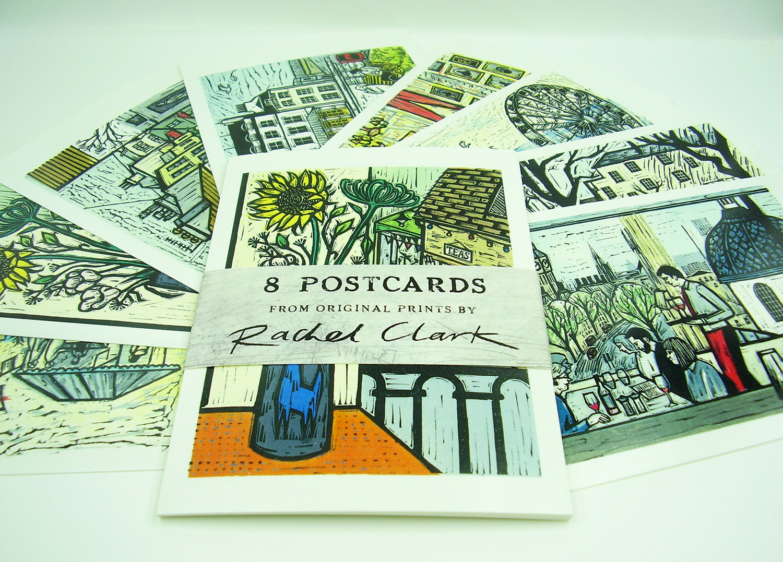 Postcard Pack by Rachel Clark
