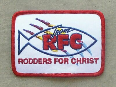 Patch: Rodders For Christ
