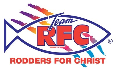 Rodders For Christ Decal Set Small 2 in x 3.5 in
