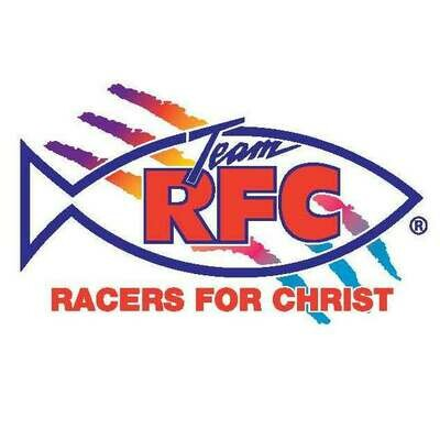 Racers For Christ Decal Set Small