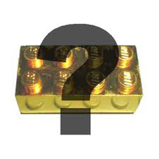 Surprise gift made from LEGO® bricks with or without SWAROVSKI® crystals Type 5