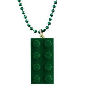 Dark Green LEGO® brick 2x4 on a 24