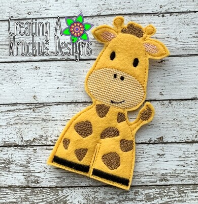 Giraffe Walking Finger Friend