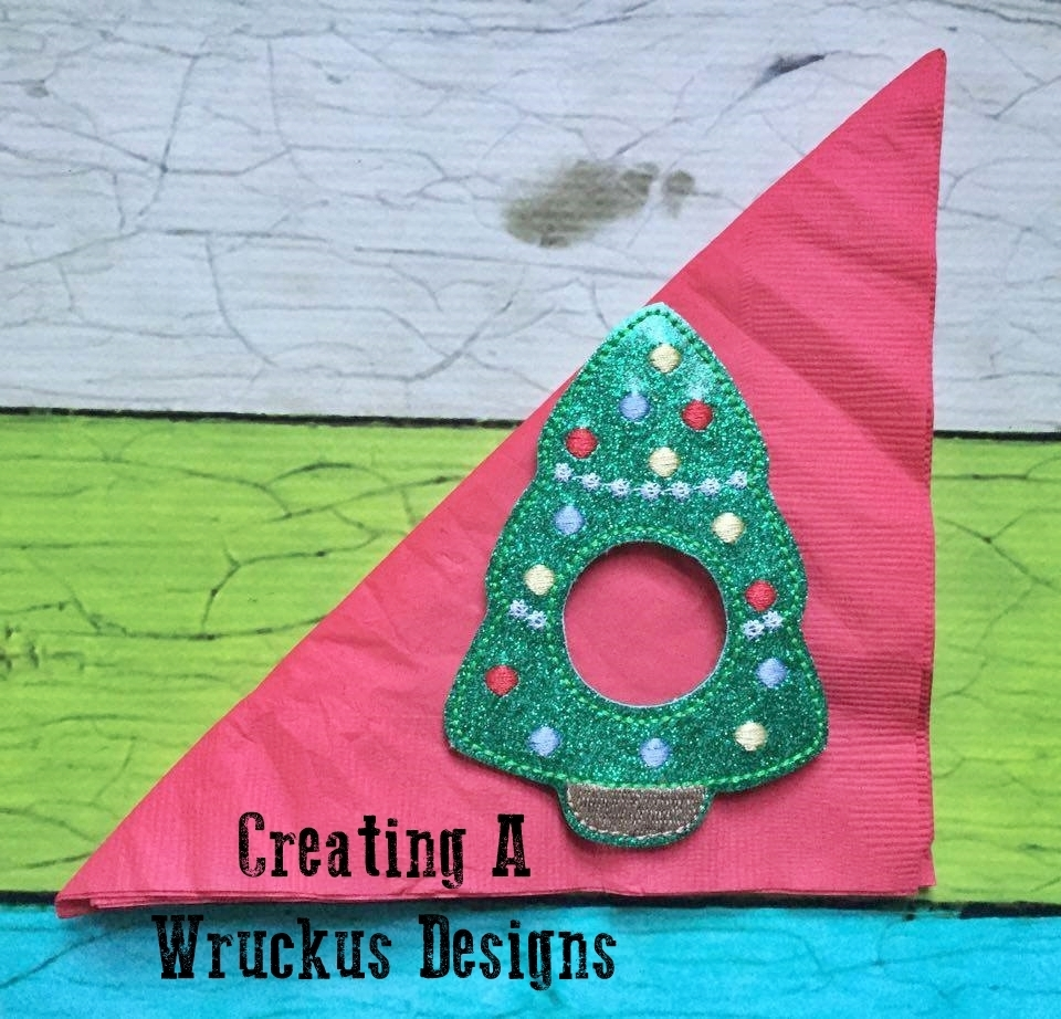 Christmas Tree Napkin Ring