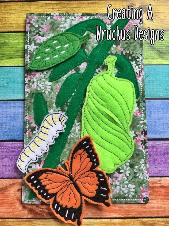 Caterpillar to Butterfly Set