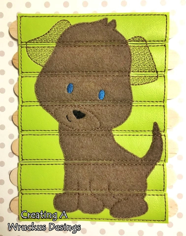 Puppy Stick Puzzle