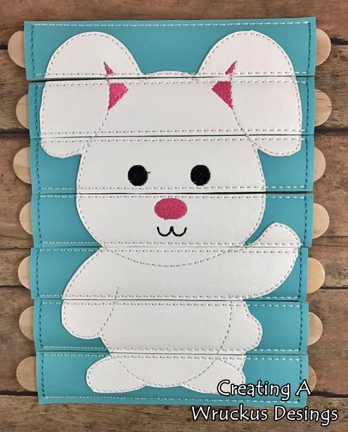 Bunny Waving Stick Puzzle