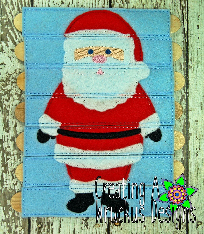 Santa Stick Puzzle