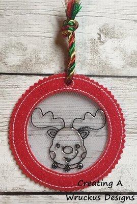 Reindeer Color Catcher Ornament