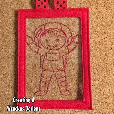Astronaut Color Catcher