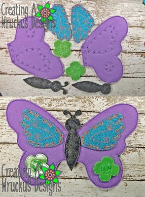 Butterfly I Can Sew Set