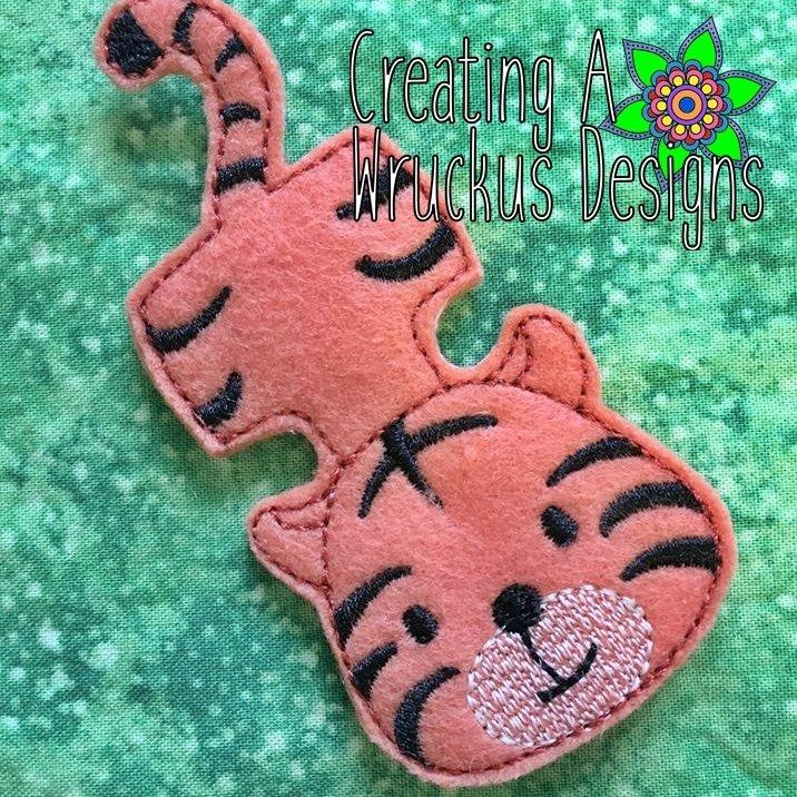 Tiger Finger Friend