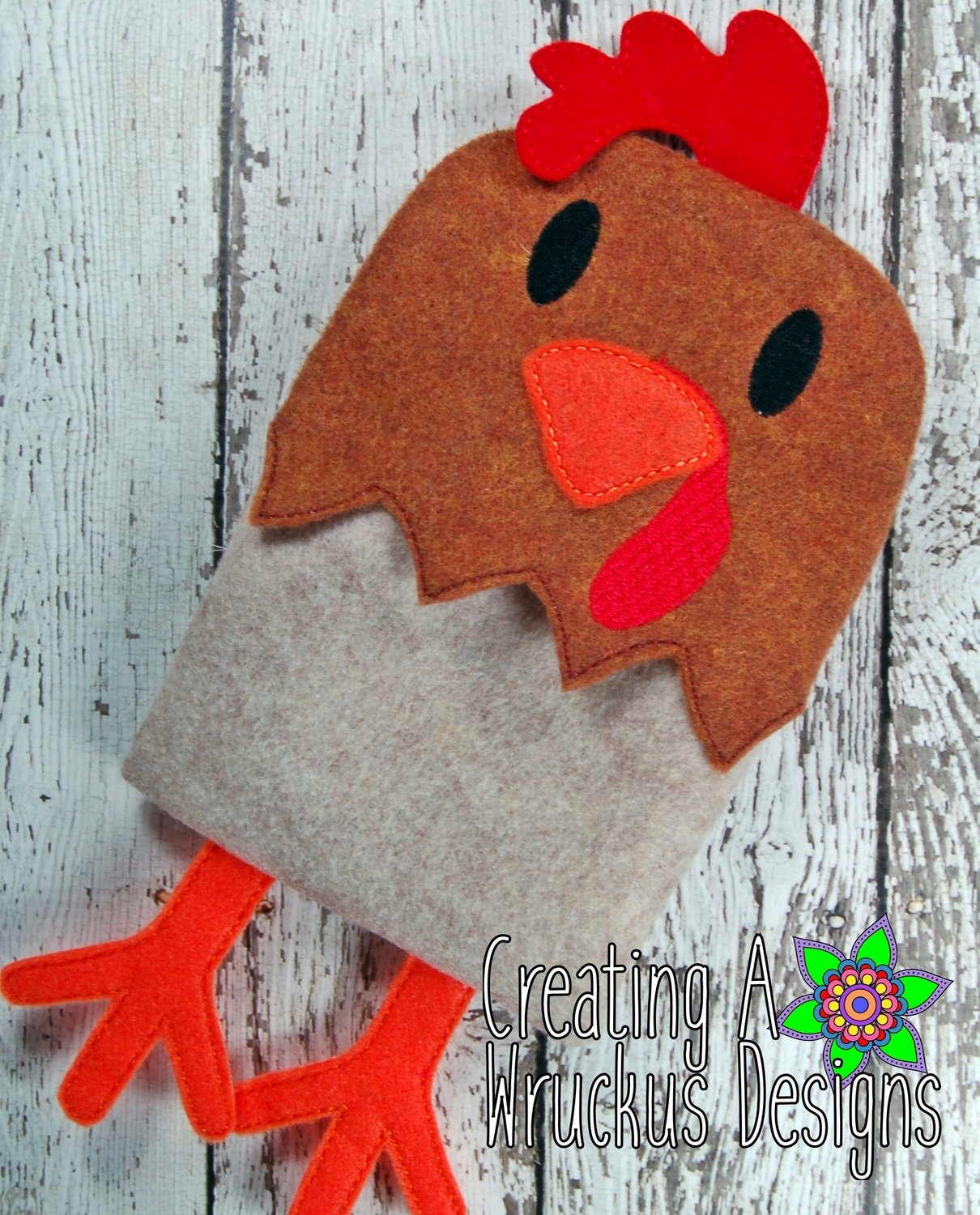 Rooster Flap Bag