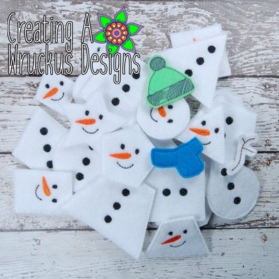 Snowman Shape Match
