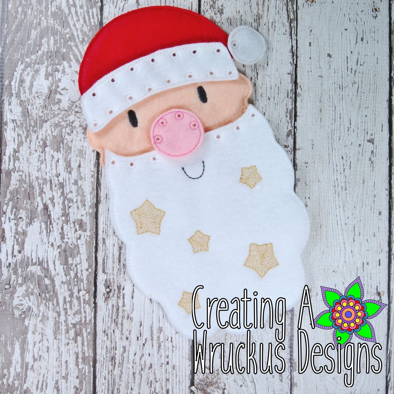 Santa Face I Can Sew Set