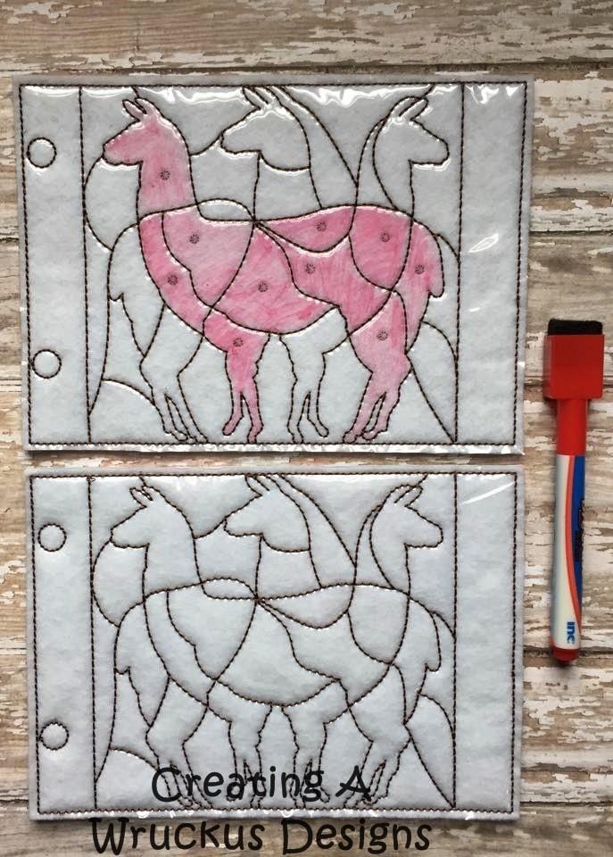 Llama Coloring Puzzle