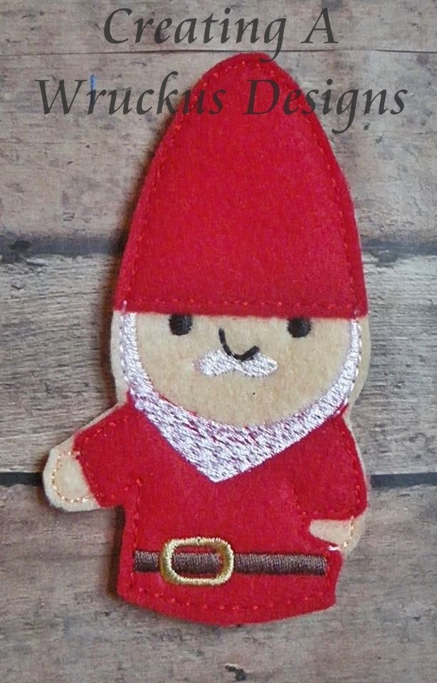 Boy Gnome  Finger Puppets