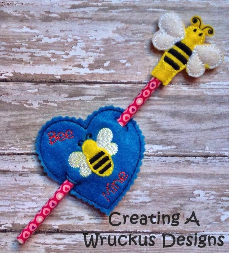 Bee Mine Pencil Set