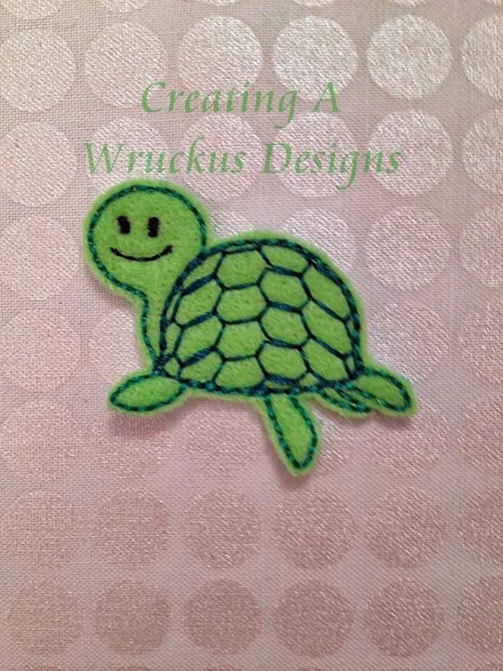 Sea Turtle Feltie