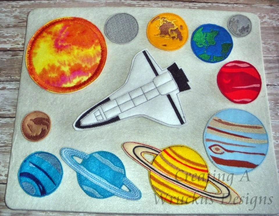 Solar System - Felt Board