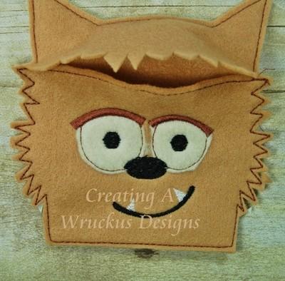 Warewolf Flap Halloween Bag