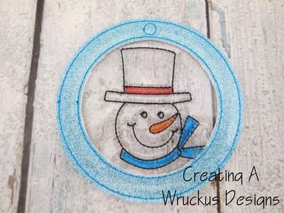 Snowman Color Catcher Ornament