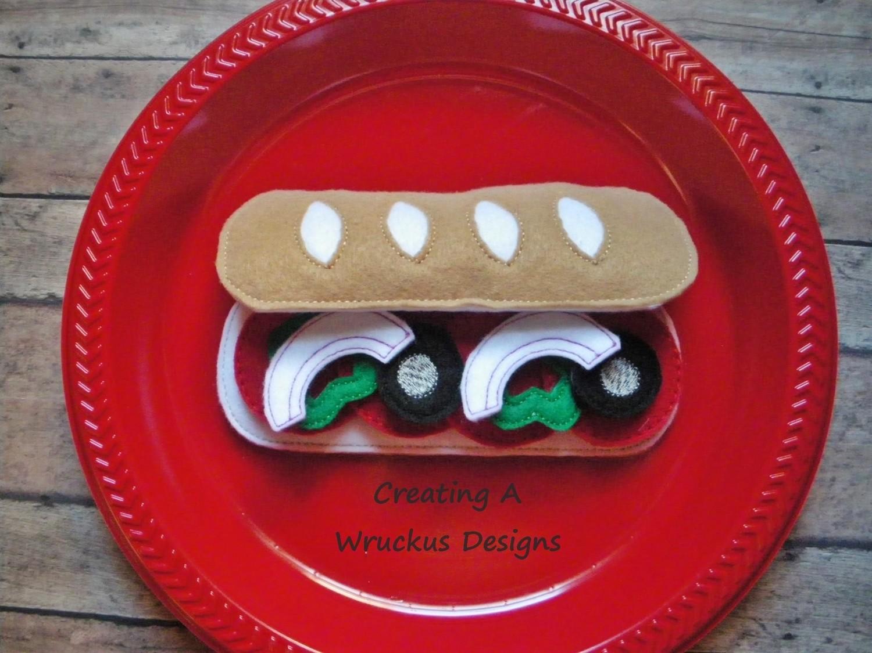 Sub Sandwich Set