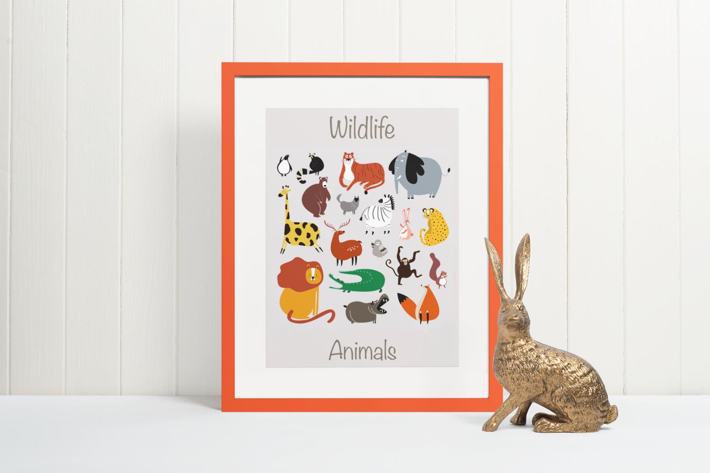 Wildlife Animals (Edition 1)