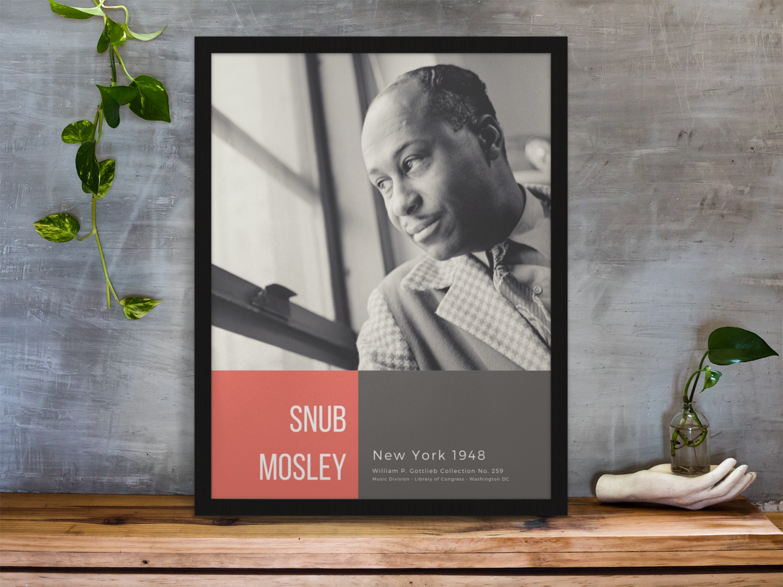 Snub Mosley, New York 1948