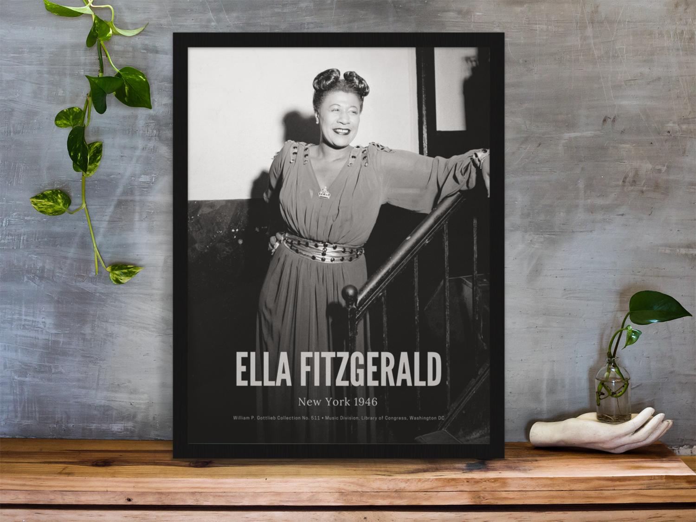 Ella Fitzgerald, New York 1946