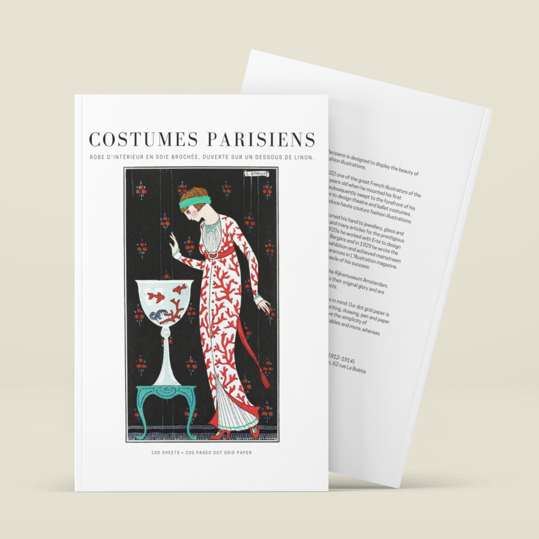 Costumes Parisiens - Sketchbook