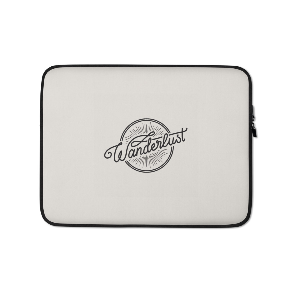 Wanderlust (Laptop Sleeve)