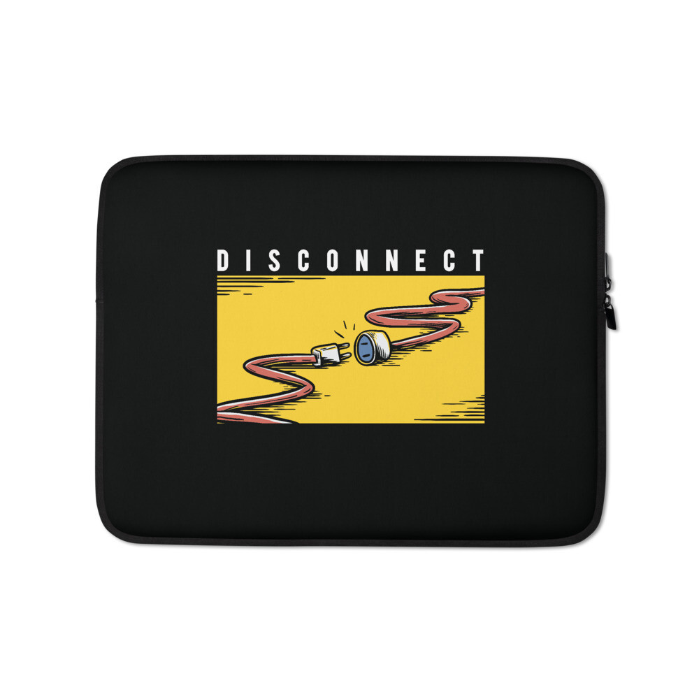 Disconnect (Laptop Sleeve)