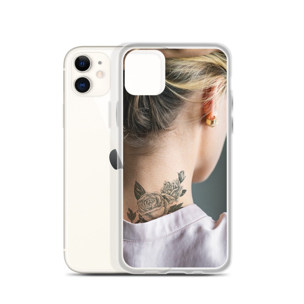 Back neck tattoo (iPhone Handyhülle)