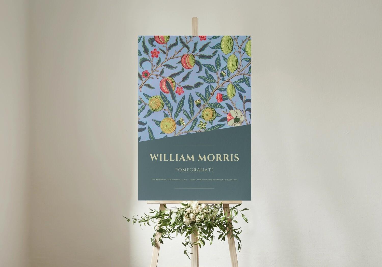 Pomegranate - William Morris (Art Print)