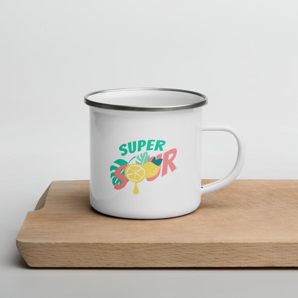 Super Sour,  Emaille Häferl