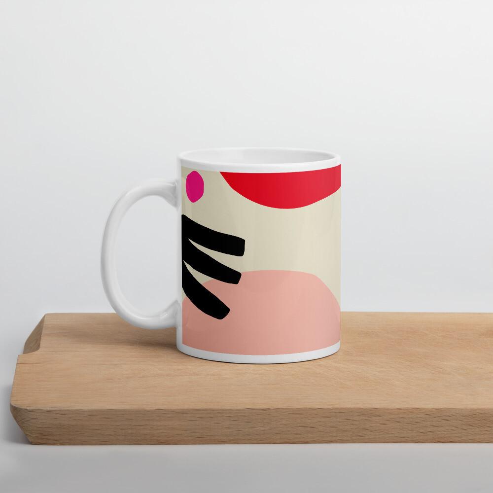 Tropical Red, Keramik Häferl