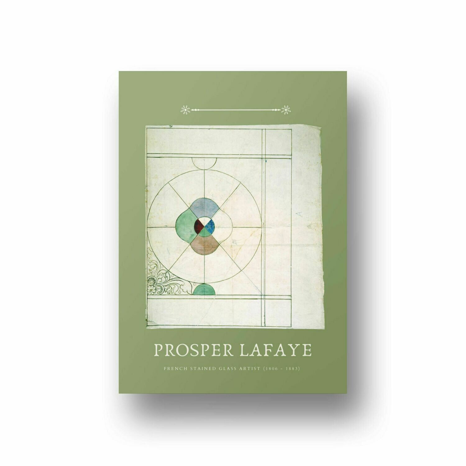 Prosper Lafaye, French Stained Glass Artist Edition 3