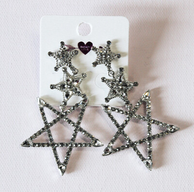 Dripping Star Earring