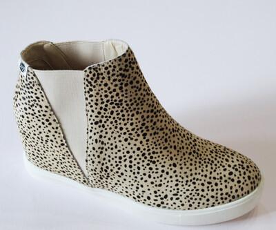 Cheetah Pony Hair Sneaker
