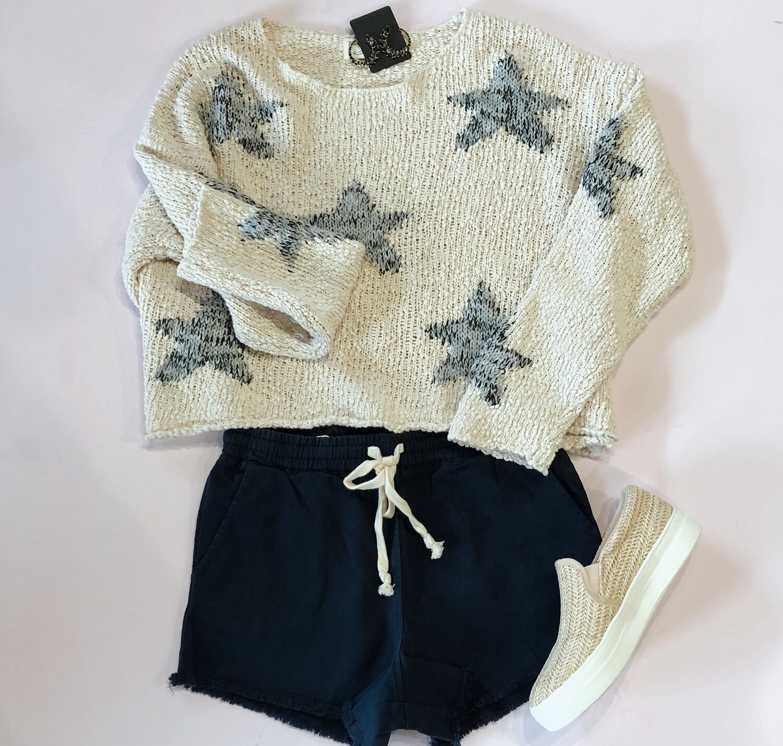 Star Beach Sweater